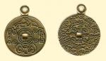 Амулет двухсторонние православный  Монета счастья