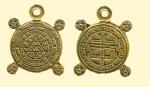 Амулет двухсторонние православный   Ключ Соломона