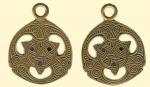 Амулет двухсторонние православный  Кельтский Трисель