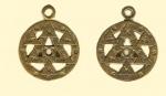 Амулет двухсторонние православный  Квадратура круга