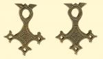 Амулет двухсторонние православный    Крест Туарегов