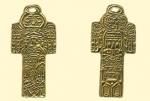 Амулет двухсторонние православный    Индийский Идол