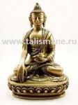 Исцеляющий будда , изображает держащим закрытую чашу с нектаром