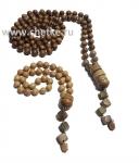 Набор мусульманских четок деревянные  из 99 и 33 зерен.6 мм..