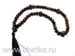 Православные четки 50 бусин 8 мм. из тигрового глаза