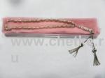 Четки из чешского металла 33 бусин 12х6 мм.