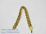 Перекидные четки металлические золотого цвета